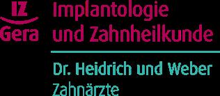 Logo Implantologie und Zahnheilkunde Dr. Heidrich und Weber
